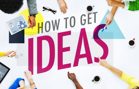 How to become more creative and get ideas.