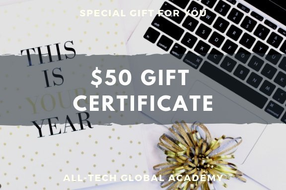 $50 gift certificates, save 15%